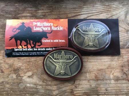 Пряжка для ремня Marlboro Vintage 1987