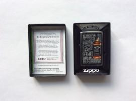 Зажигалка Zippo 1601 Jack Daniels Tennessee Whiskey Old No.7