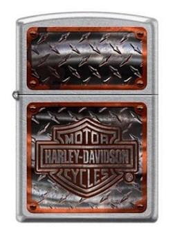 Зажигалка Zippo 1698 Harley Davidson-Logo Diamond Plate