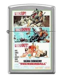 Зажигалка Zippo 5799 James Bond 007 Thunderball