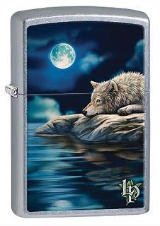 Зажигалка Zippo 80331 Lisa Parker Wolf Vollmond