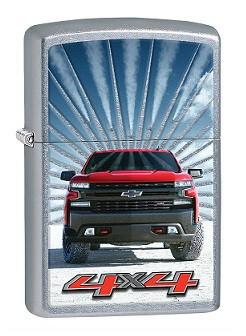 Зажигалка Zippo 80664 Chevrolet Silverado 4x4