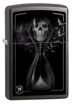 Зажигалка Zippo Anne Stokes Hourglas Skull
