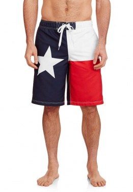 Плавки шорты (Board Shorts) Texas Flag