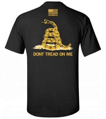 Футболка Gadsden and Culpeper - Dont Tread on Me Black