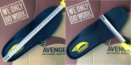 Ботинки Avenger Mens Wedge 6 Carbon