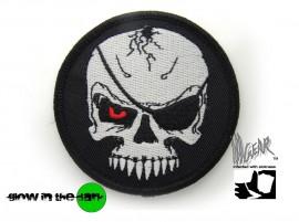 Нашивка (патч светящийся) Evil Blackbeard USA