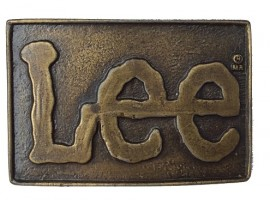 Пряжка Lee Vintage Belt Buckle 1970s изображений