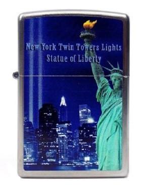 Зажигалка Zippo 206 New York Twin Towers