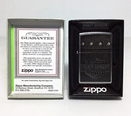 Зажигалка Zippo 28616 Harley Davidson Saddle Bags Leather