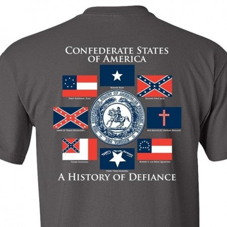 Футболка Confederate States of Amerika изображений