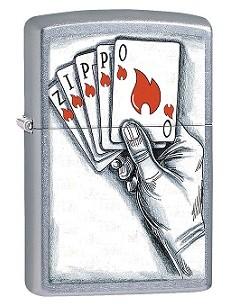 Зажигалка Zippo BS Cards