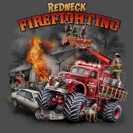 Футболка Buckwear Redneck Red Fire
