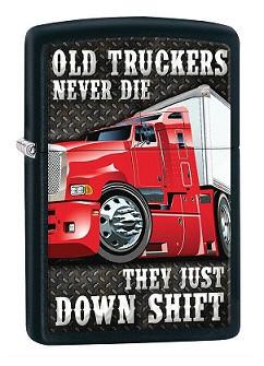 Зажигалка Zippo 80538 Old Truckers Never Die