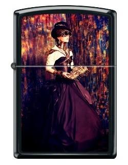 Зажигалка Zippo Steampunk Woman Portrait