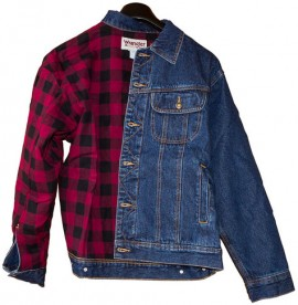 Куртка джинсовая Wrangler Rugged Wear Flannel RJK32AN изображений