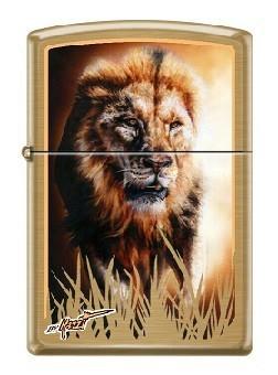 Зажигалка Zippo 0106 Mazzi Majestic Lion