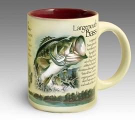 Кружка керамическая Largemouth Bass (American Expedition)