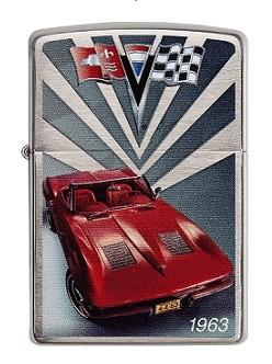 Зажигалка Zippo Сhevy Corvette Stingray C2