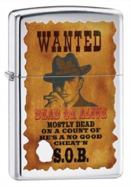 Зажигалка Zippo 28289 Wanted Poster