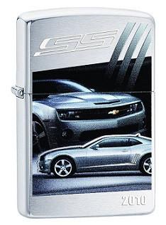 Зажигалка Zippo Chevy Camaro SS 2010