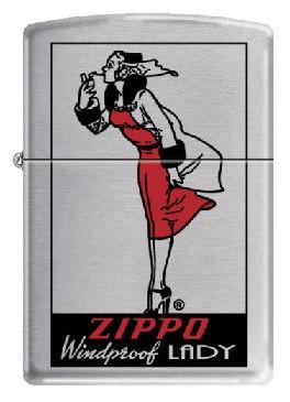 Зажигалка Zippo Windprofoof Lady