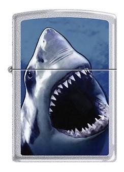 Зажигалка Zippo BS White Shark
