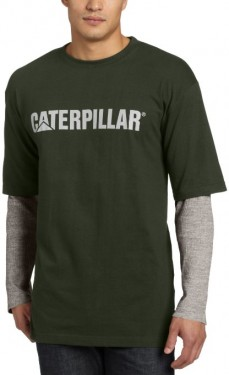 Футболка Caterpillar Mens Thermal Layered