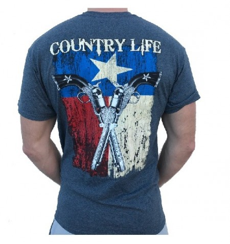 Футболка Country Life Flag and Guns