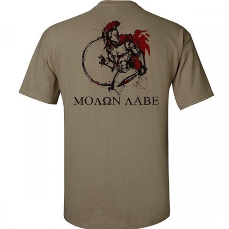 Футболка Spartan Warrior Molon Labe