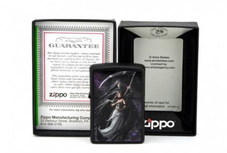 Зажигалка Zippo 28856 Anne Stokes Death and Maiden