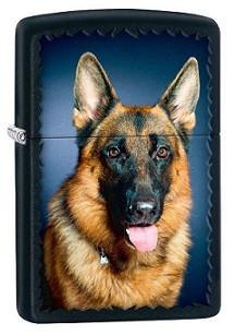 Зажигалка Zippo 76983 German Shepherd