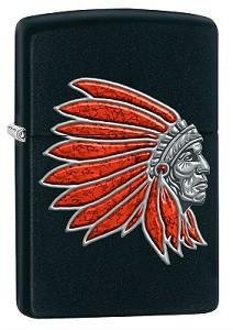 Зажигалка Zippo 77238 Indian Head