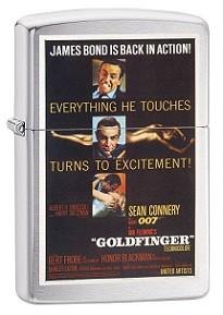 Зажигалка Zippo 79344 James Bond 007 Goldfinger