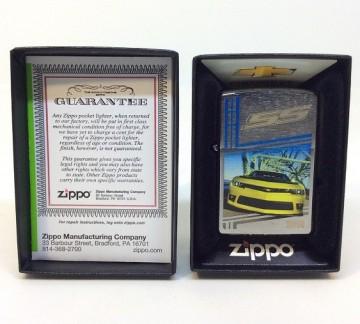 Зажигалка Zippo Chevy Camaro SS 2014