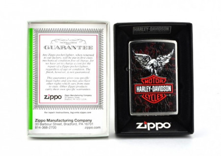 Зажигалка Zippo Harley Davidson Eagles