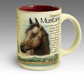 Кружка керамическая American Mustang (American Expedition)
