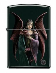 Зажигалка Zippo 6571 Anne Stokes Woman and Dragon