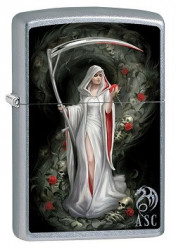 Зажигалка Zippo 80892 Anne Stokes Female Grim Reaper