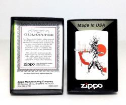 Зажигалка Zippo Samurai Girl