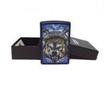 Зажигалка Zippo 9505 Mazzi Ferocious Wolf