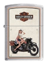 Зажигалка Zippo 9944 Harley Davidson Military US Marines