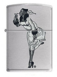 Зажигалка Zippo Windy Girl Women Smoking