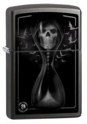 Зажигалка Zippo Zippo Anne Stokes Hourglas Skull