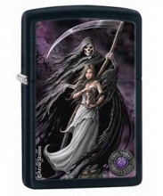 Зажигалка Zippo 28856 Anne Stokes Death and Maiden