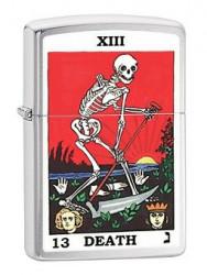 Зажигалка Zippo 80717 Tarot 13 Death