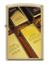 Зажигалка Zippo 0411 Gold Bars