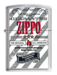 Зажигалка Zippo 200 World Famous Guarantee