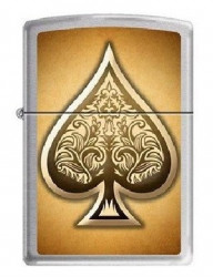 Зажигалка Zippo 0247 Poker Ace of Spades