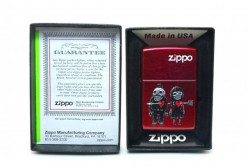 Зажигалка Zippo 1792 Zombies-Never Leave You